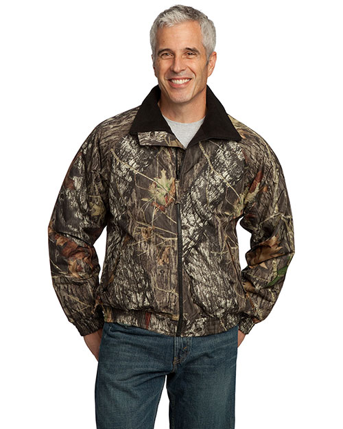 Port Authority J754MO Men Big  Mossy Oak Camouflage Challenger Jacket Mossy Oak/Tr B at bigntallapparel
