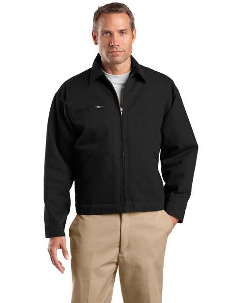 Cornerstone J763 Men Work Jacket Black at bigntallapparel