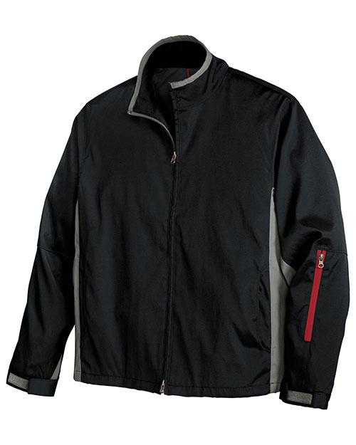 Port Authority J765 Men  Mrx Jacket Black/Grey at bigntallapparel
