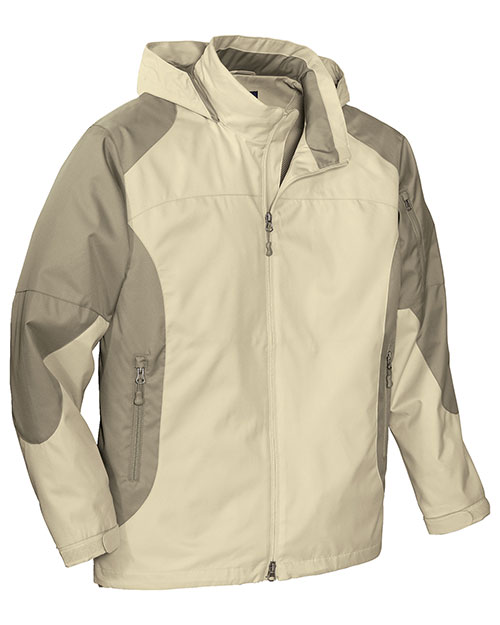 Port Authority J768 Men  Endeavor Jacket Beach/Sand Dune at bigntallapparel