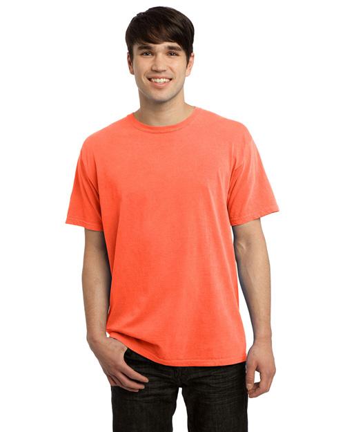 Port & Company PC099 Men Pigment-Dyed Tee Neon Orange at bigntallapparel