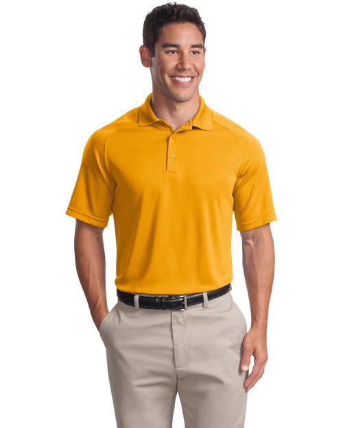 Sport-Tek T475 Men Dry Zone Raglan Sport Shirt Gold at bigntallapparel
