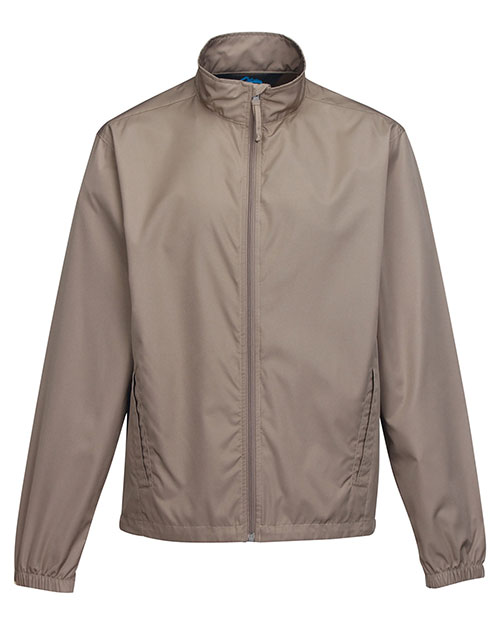 Tri-Mountain J1760 Men 100% Polyester Light Weight Jacket Khaki at bigntallapparel