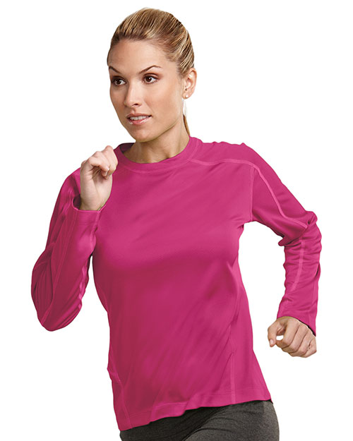 Tri-Mountain KL606 Women 100% Polyester Berry at bigntallapparel
