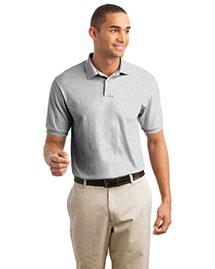 Hanes 054X Men Stedman 55 Ounce Jersey Knit Sport Shirt