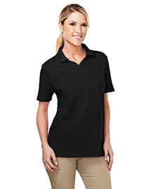 Tri-Mountain 091 Women 60/40 Johnny Collar Easy Care Golf Shirt