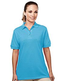 Tri-Mountain 092 Women 60/40 Easy Care Pique Golf Shirt
