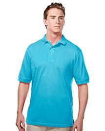 Tri-Mountain 095 Men Element Easy Care Short Sleeve Pique Golf Shirt at bigntallapparel