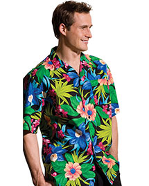Edwards 1015 Men  Hawaiian Camp Shirt at bigntallapparel