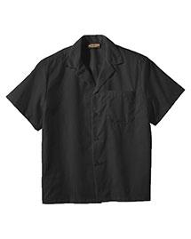 Edwards 1029 Men  Easy Care Poplin Camp Shirt at bigntallapparel