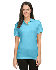 Tri-Mountain 102 Women 60/40 Pique Golf Shirt