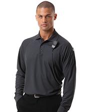 Blue Generation BG1055 Men L/S Adult Tactical Shirt Graphite Extra Small Solid