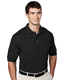Tri-Mountain 106 Men 60/40 Pique Pocketed Golf Shirt