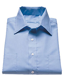 Edwards 1110 Women Traditional Short Sleeve Broadcloth Shirt at bigntallapparel