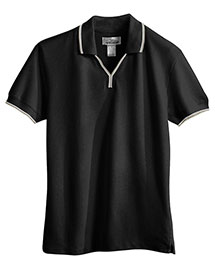 Tri-Mountain 112 Women 60/40 Ultracool Mesh Johnny Collar Golf Shirt at bigntallapparel