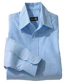 Edwards 1160 Women Traditional Long Sleevve Broadcloth Shirt