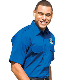 Edwards 1215 Women  Short Sleeve Safari Shirt at bigntallapparel