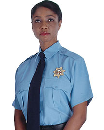 Edwards 1225 Women Security Short Sleeve Shirt