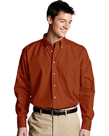 Edwards 1280 Men Easy Care Long Sleeve Poplin Shirt
