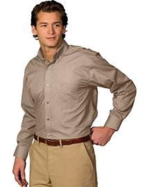 Edwards 1295 Men Long Sleeve Soft Touch Poplin Shirt