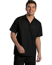 Edwards 1305 Men Cook Shirt With Mesh Back