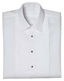 Edwards 1393 Women Tuxedo Shirt 1/4 Pleat at bigntallapparel