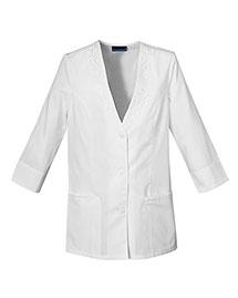 Cherokee 1491 Women 3/4 Sleeve Embroidered Jacket