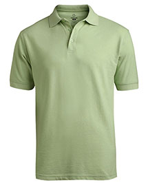 Edwards 1500 Men Short Sleeve Soft Touch Blended Pique Polo