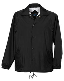 Tri-Mountain 1500 Men Nylon Coachs Jacket With Flannel Lining at bigntallapparel