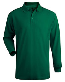 Edwards 1515 Men Long Sleeve Pique Polo