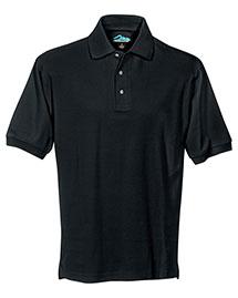 Tri-Mountain 168 Men Pique Polo Golf Shirt