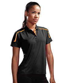 Tri-Mountain 171 Women 100% Polyester Uc Knit Polo Shirt