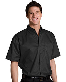 Edwards 1740 Men Big & Tall Left Chest Pocket Short Sleeve Twill Shirt