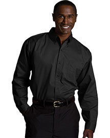 Edwards 1750 Men Cottonplus Long Sleeve Twill Shirt