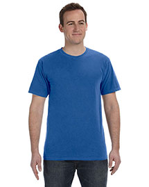 Authentic Pigment 1969 Men 5.6 Oz. Pigment-Dyed & Direct-Dyed Ringspun T-Shirt at bigntallapparel