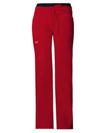 Cherokee Workwear 24001 Women Low Rise Drawstring Cargo Pant at bigntallapparel