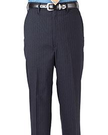 Edwards 2560 Men Pinstripe Flat Front Pant