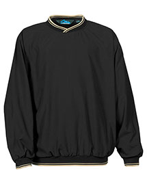 Tri-Mountain 2560 Men Big And Tall Peached Microfiber Windshirt With Nylon Lining