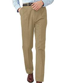 Edwards 2630 Men All Cotton Pleated Pant at bigntallapparel
