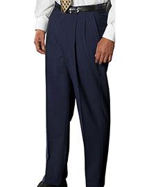 Edwards 2680 Men Wool Blend Pleated Dress Pant at bigntallapparel