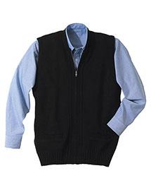 Edwards 302 Unisex Heavy Weight Zipper Vest With Tuff-Pil Plus at bigntallapparel