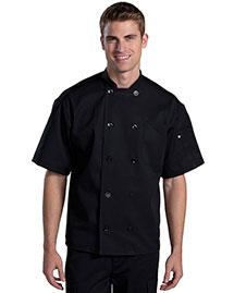 Edwards 3333 Unisex Ten Button Chef Coat With Back Mesh