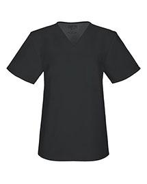 Cherokee Workwear 34777A Women V-Neck Top at bigntallapparel