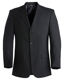 Edwards 3660 Men Pinstripe Wool Blend Suit Coat