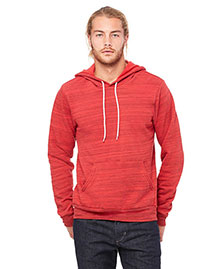Bella 3719 Men  Poly-Cotton Fleece Pullover Hoodie
