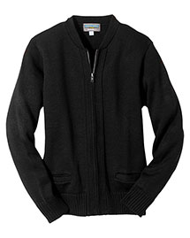Edwards 372 Men  Heavy Weight Zipper Cardigan W/Tuff-Pil? Plus