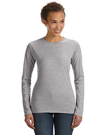 Anvil 374L Women Fit Ringspun Long-Sleeve T-Shirt at bigntallapparel