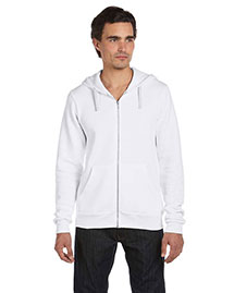 Canvas 3909 Men  8.2 Oz. Triblend Sponge Fleece Full-Zip Hoodie