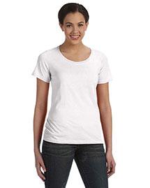 Anvil 391A Women Sheer Scoop Neck T-Shirt