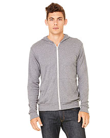 Canvas 3939 Men  5.6 Oz. Triblend Lightweight Hoodie